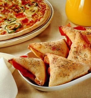 Calzone, pizza