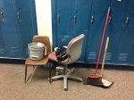 sprzątanie szkoły
